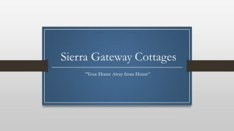 Sierra Gateway Cottages