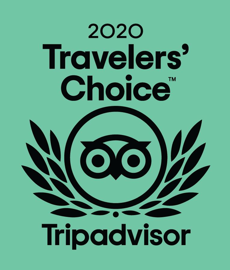 TripAdvisor Traveler's Choice Award 2020!