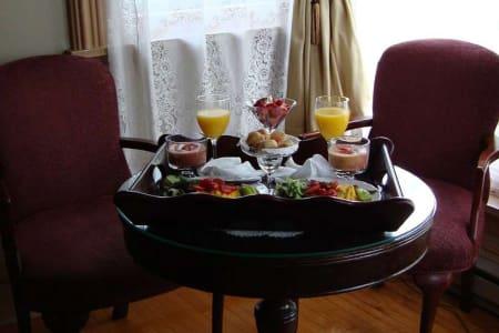 Pissarro is ideal for in room breakfast