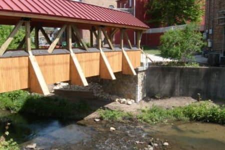 Five Shovelmen Bridges of Sparta