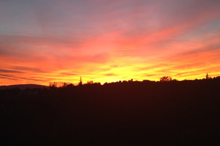 SUNSET VIEWS FROM THE INN
