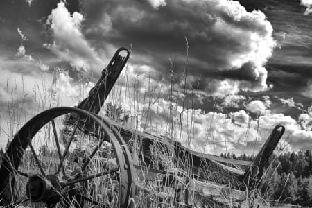 The JIm Jacobson Black and White Gallery  Quintessential Montana