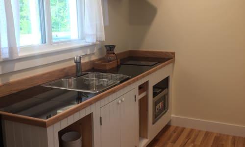 Galley kitchenette