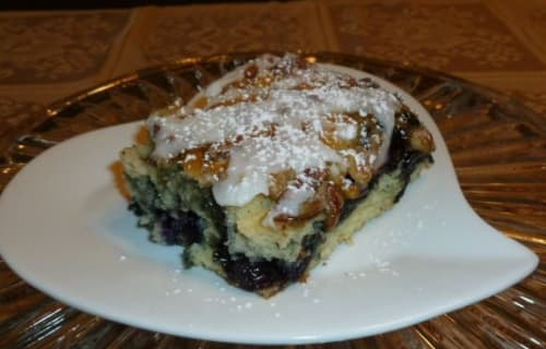 Favorite Recipe: Blueberry Oatmeal Streusel Bread Pudding