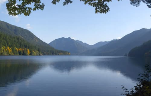 Day 1: Lake Crescent (50 minutes from Hurricane Ridge)