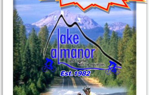 Lake Almanor Basin Mile High Bike Ride 2017