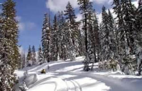 Presidents' Weekend Lake Almanor Snowmobile Poker Run