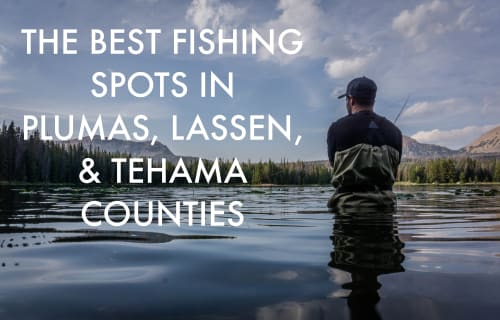 The Best Fishing Spots in Plumas, Lassen, & Tehama Counties