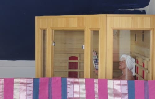 Infrared Sauna now available at Los Castaños
