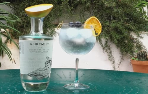 Exquisite new gin is now in our collection! Distilled by the light of the full moon!