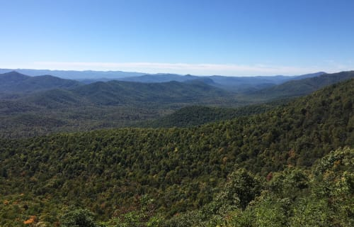 Head South on the Blue Ridge Parkway for Fall Color