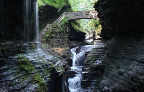 Waterfalls in the Finger Lakes