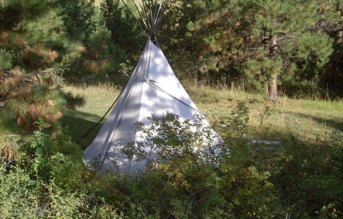 Montana Bear Spirit Lodge Tipi Fun