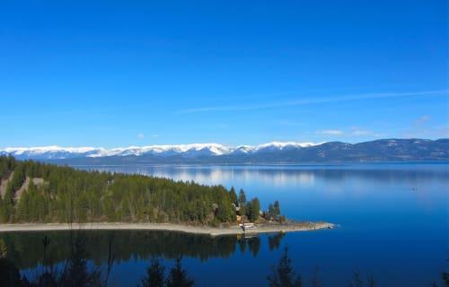 Flathead Lake North of Bear Spirit Lodge