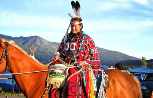 Arlee 116th PowWow Celebration near Bear Spirit Lodge