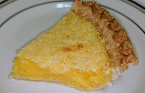 Lemon Chess Pie - Pies on Parade 2019