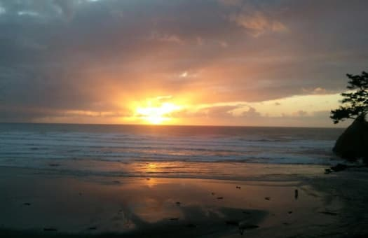 Sunset + Ocean