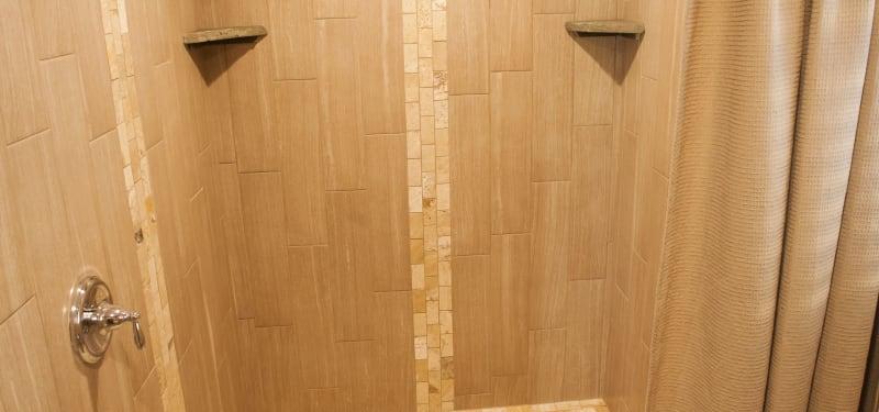 Sierra Room large walk-in shower