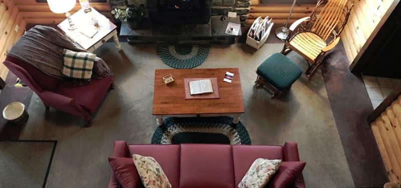 loft view  Living room