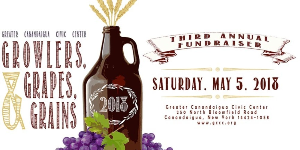Don't Miss the 3rd Annual Growlers, Grapes, & Grains!
