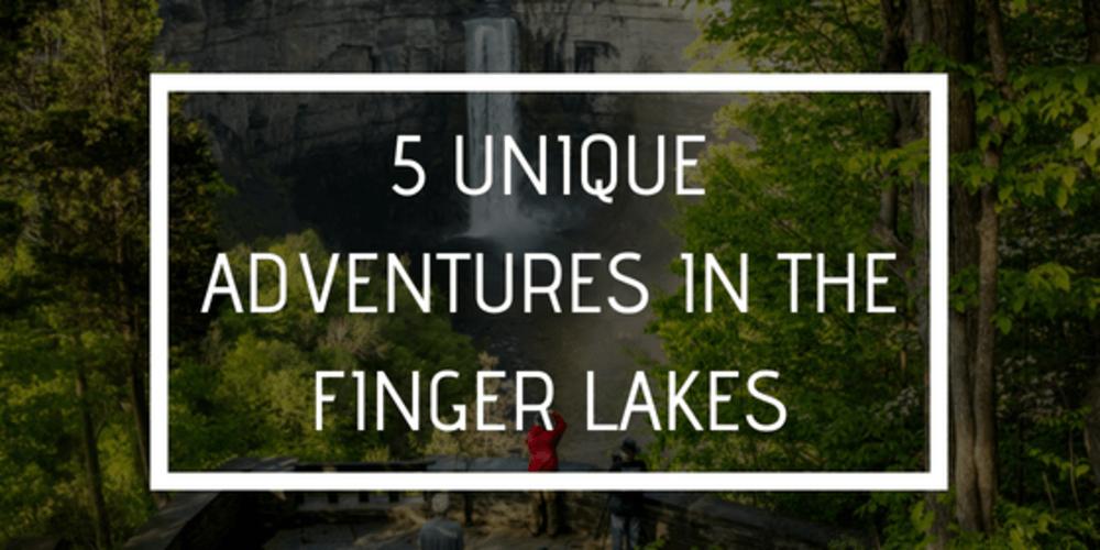 5 Unique Adventures in the Finger Lakes