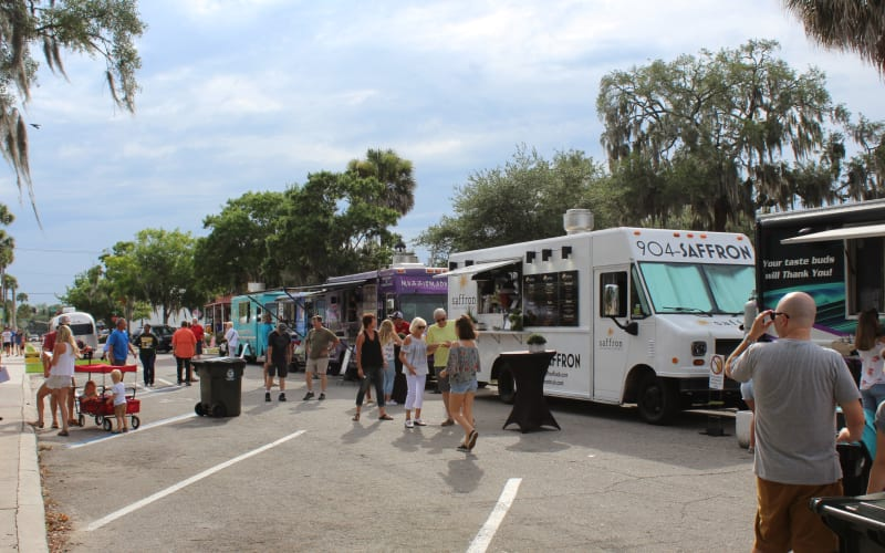 Food Truck Friday in Green Cove Springs