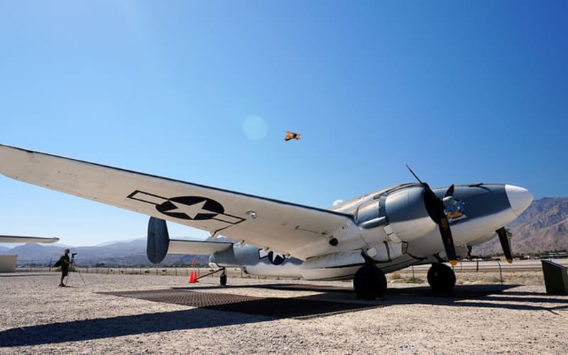 Visit the Palm Springs Air Museum