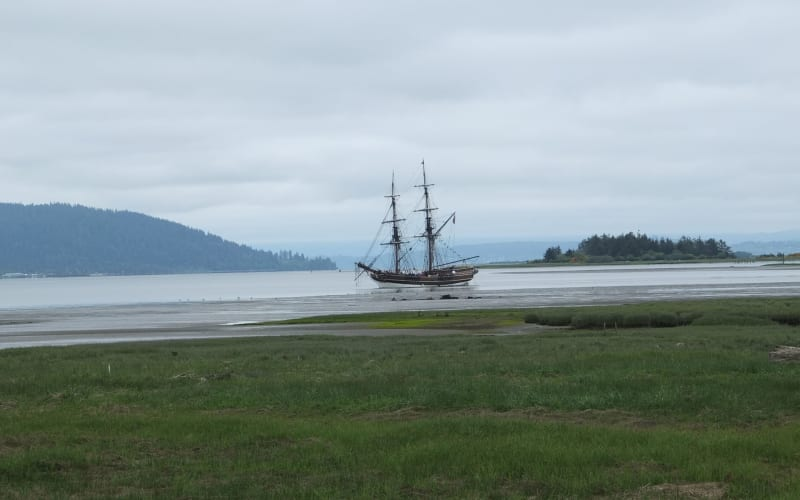 Tall Ships in Ilwaco, Washington