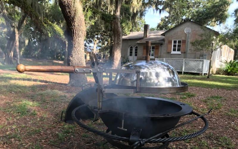 Custom, Cast-Iron Cooking