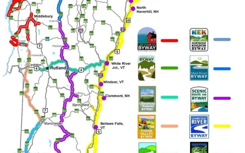 The Byways of Vermont