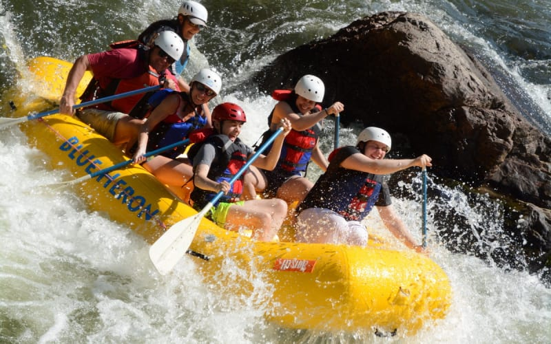 Whitewater rafting adventures in Asheville