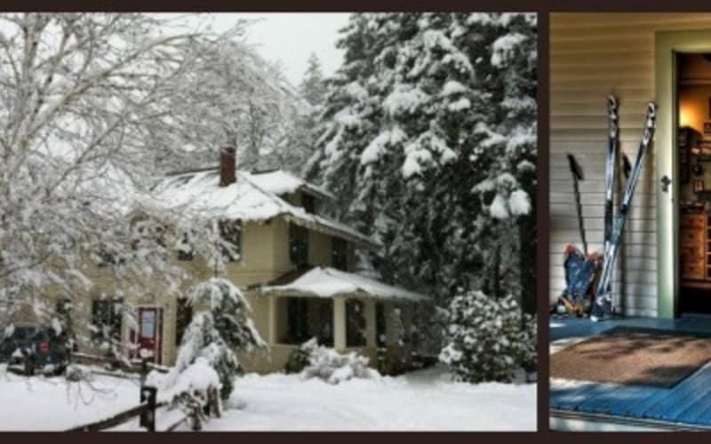 There's Snow time like the Present to visit the Old Parkdale Inn Bed and Breakfast