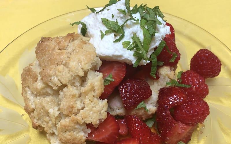 Strawberry Shortcakes For National Strawberry Shortcake Day