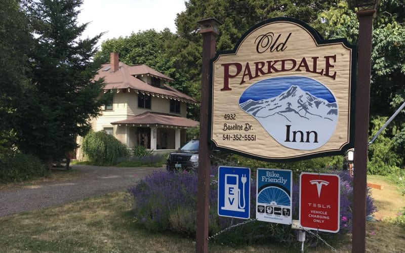 Electric Vehicle Charging Stations at the Old Parkdale Inn