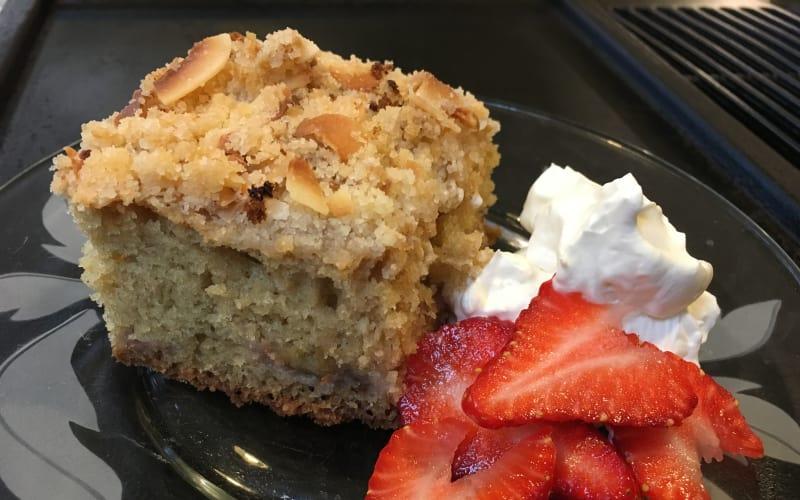 A Northwest Tasty Coffee Cake ~ Strawberry Rhubarb