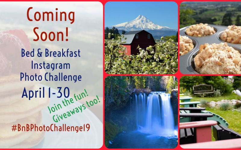 Oregon Bed and Breakfast Guild Photo Challenge
