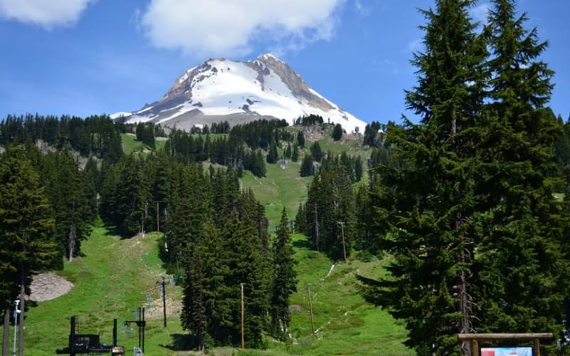 Summertime at Mt Hood Ski Resorts