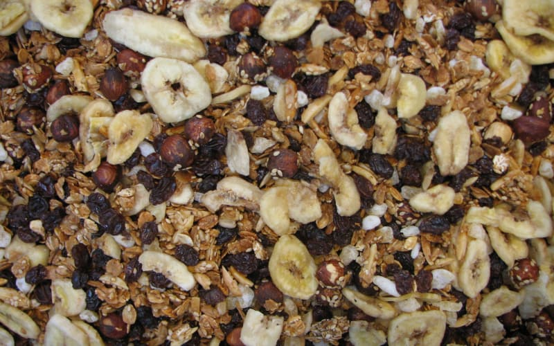 Granola ~ Tasty, Crunchy and Hot From the Oven