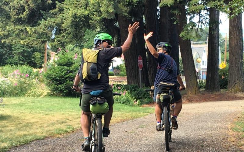 Mile 639 of the Oregon Timber Trails in Parkdale, Oregon