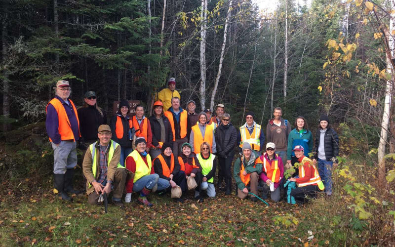 Banadad Trail Association's Trail  Clearing