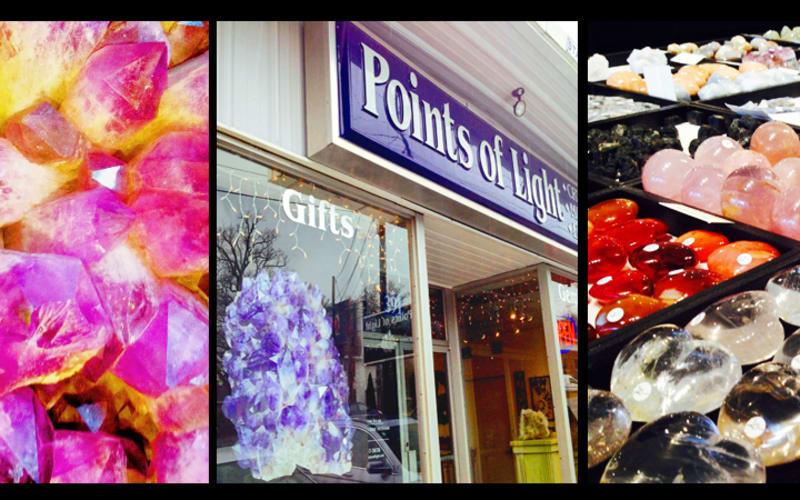 Points of Light, Crystal Store near Downtown Asheville