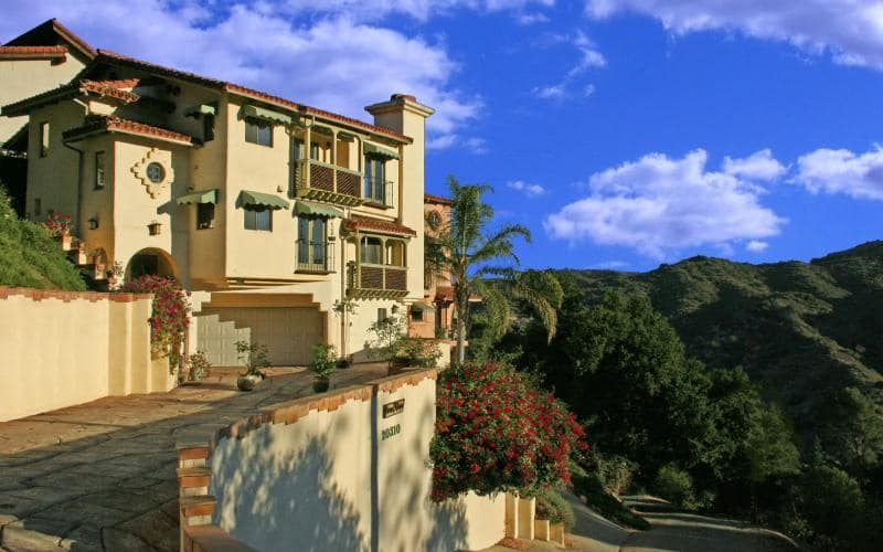 The Mediterranean Architectural Influences of the Topanga Canyon Inn