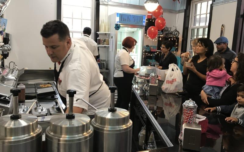 Go! Ice Cream Alley Store in Downtown Ypsilanti, MIchigan