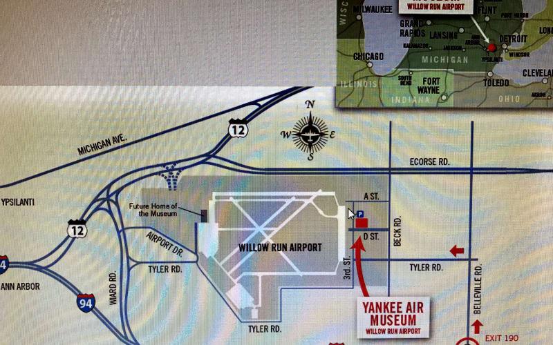 Yankee Air Museum at Willow Run Airport Ypsilanti, MI