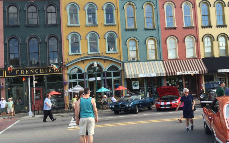 A Visit to Ypsilanti's Depot Town Area