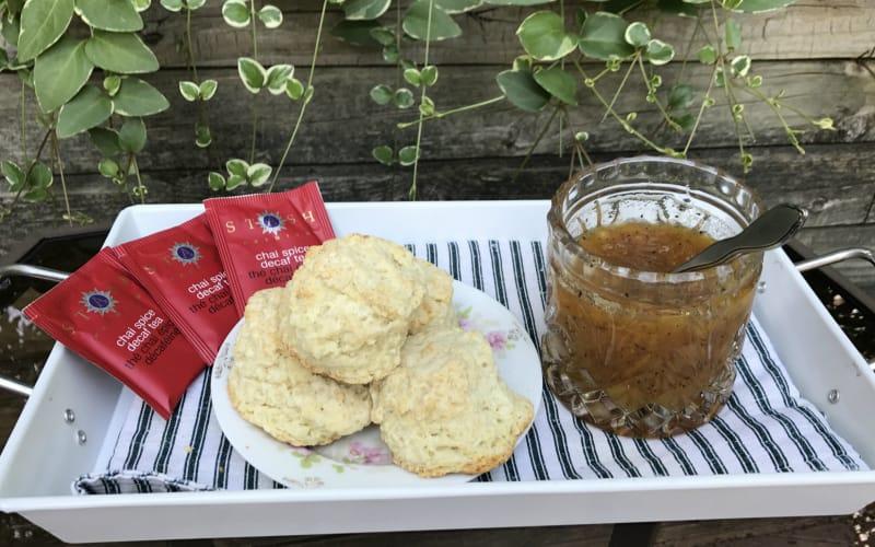 Ann Arbor -Ypsilanti area Parish House Inn Fall recipes: Peach Chai preserves