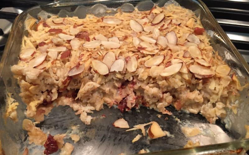 Parish house Inn recipe: Michigan Baked Oatmeal