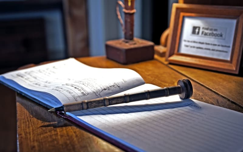 The Charm of a Guestbook
