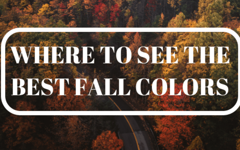 Where to See the Best Fall Colors