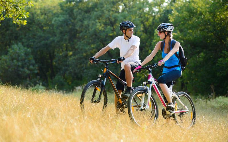 Biking Trails Around Sparta